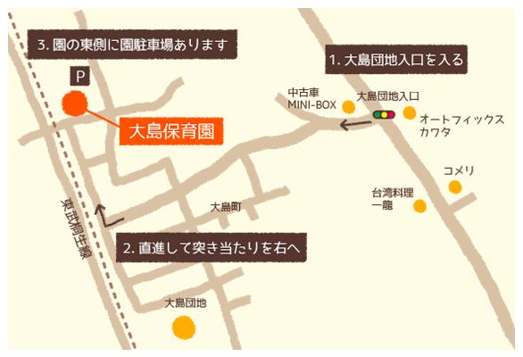 近距離マップ