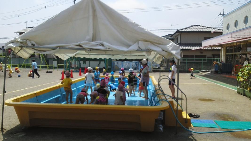 プール遊び2~5歳児